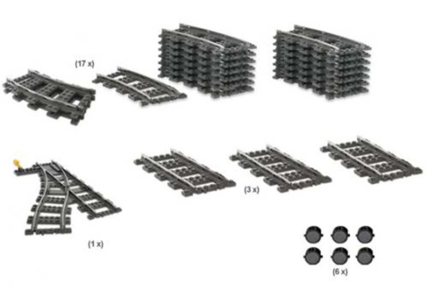 9V Train Switching Track Collection