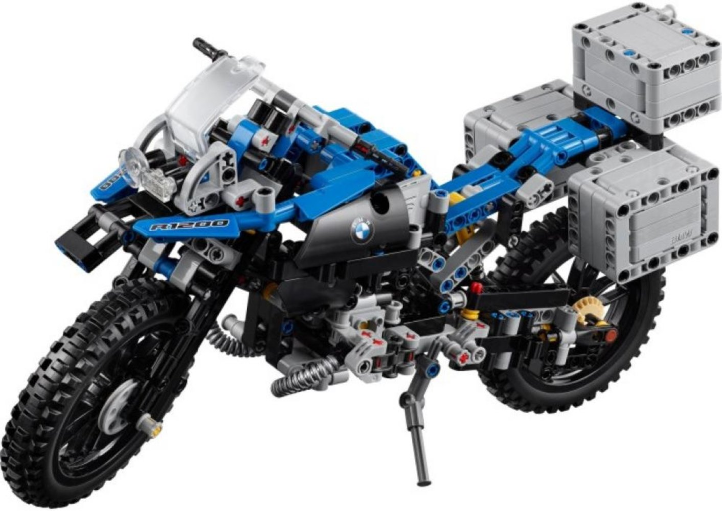 Technic 40 year anniversary model (42057 + 42061 + 42063)