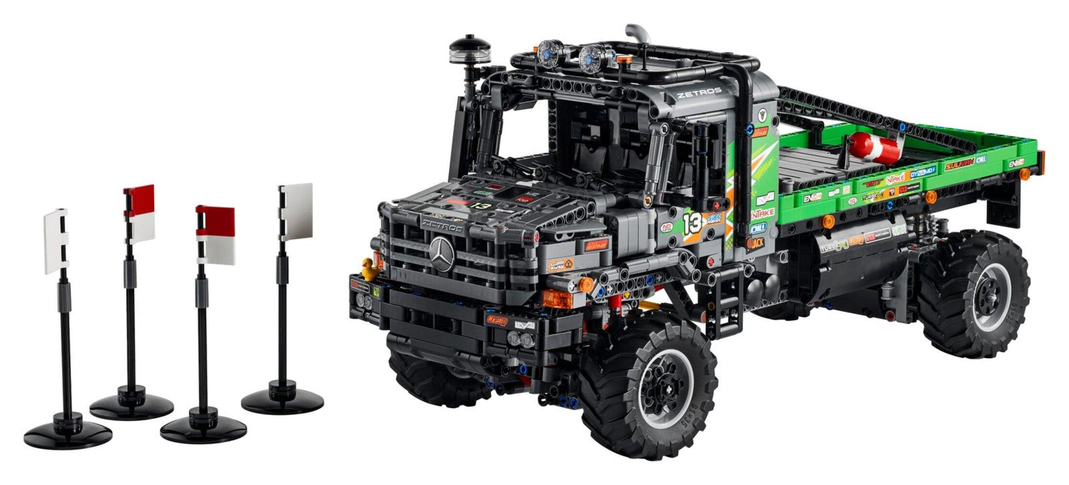 4x4 Mercedes-Benz Zetros Trial Truck