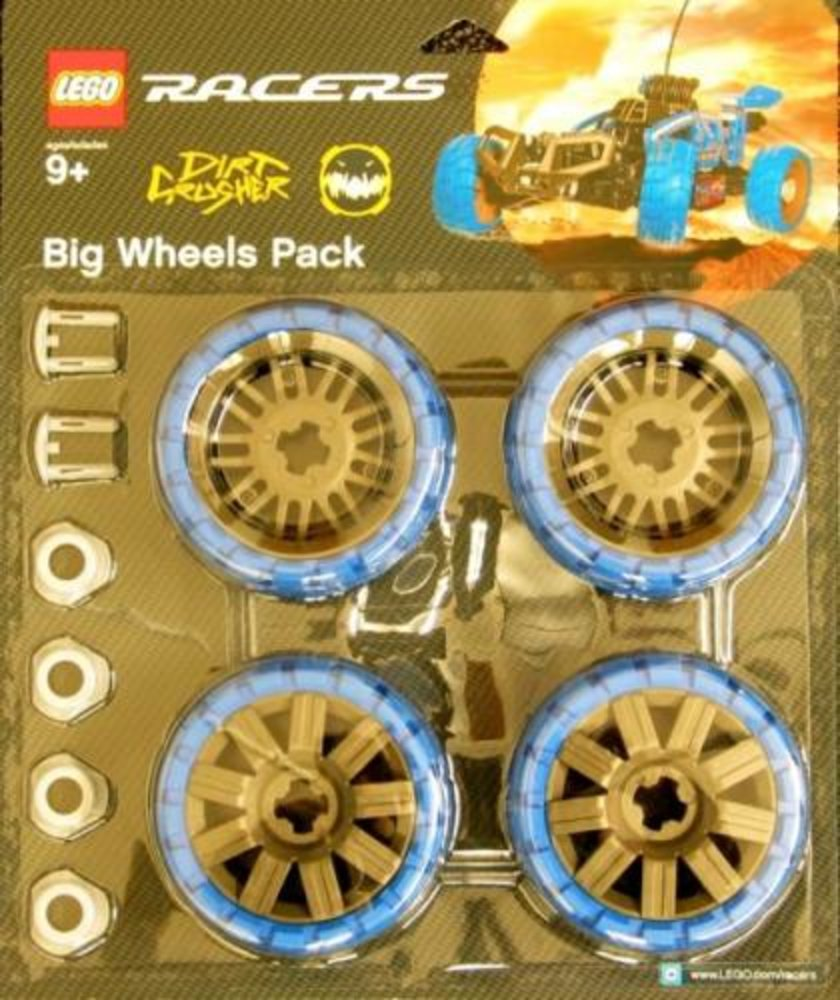 Big Wheels Pack Dirt Crusher (Blue)