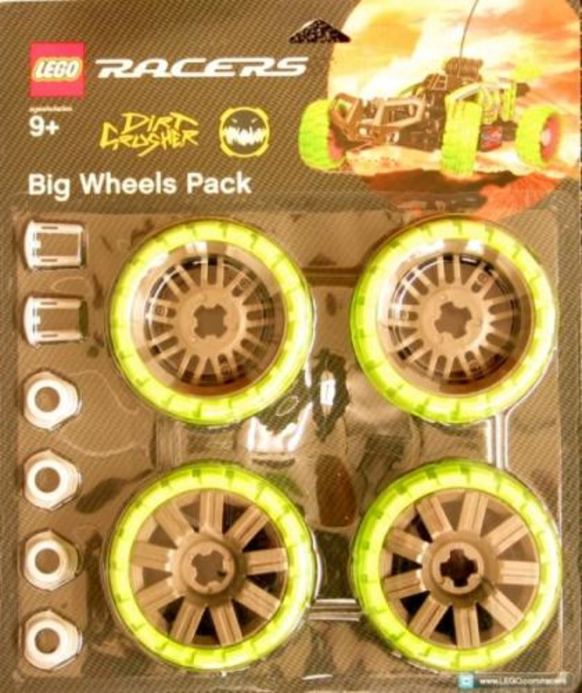 Big Wheels Pack Dirt Crusher (Green)