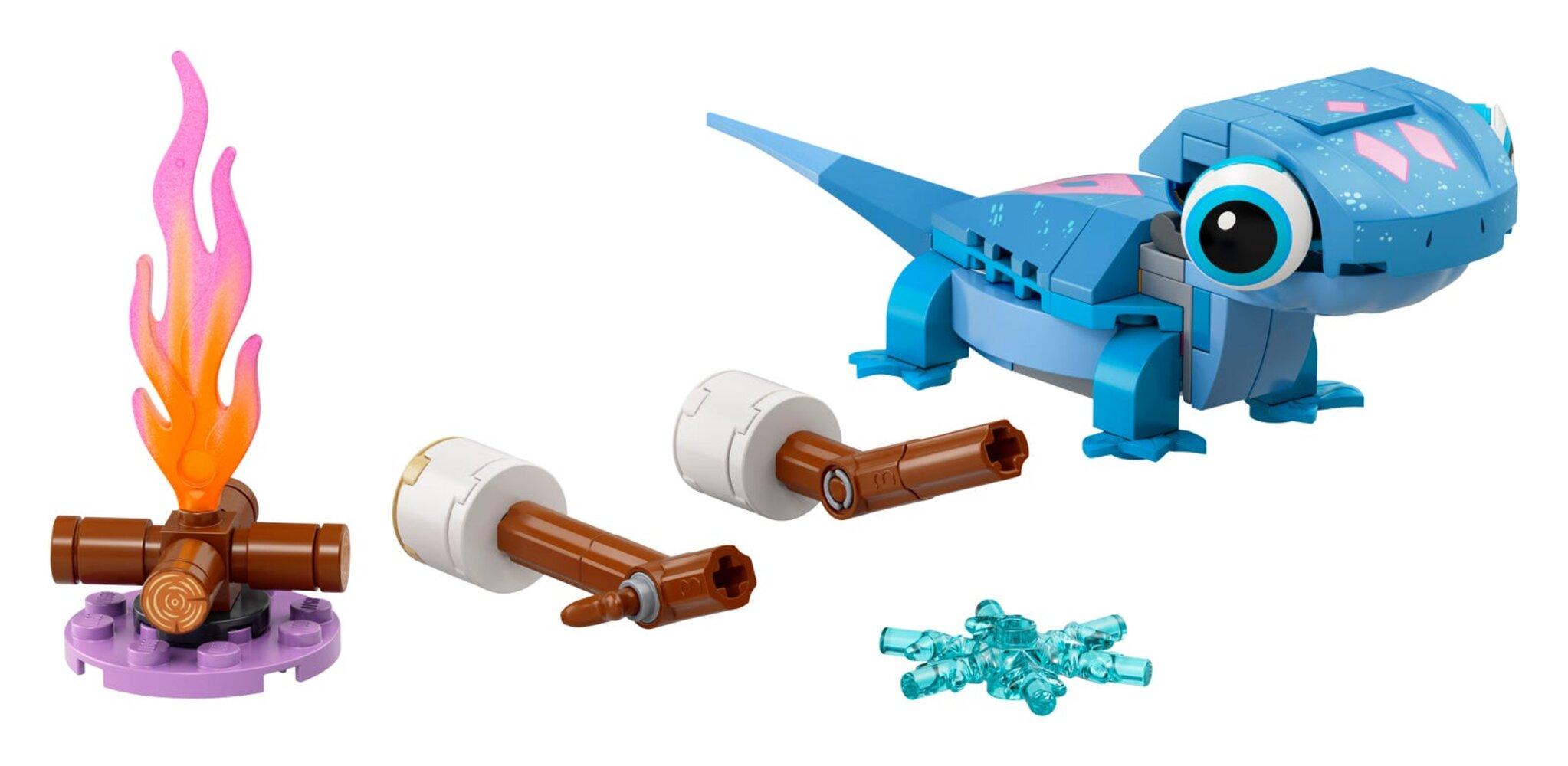 Bruni the Salamander Buildable Character