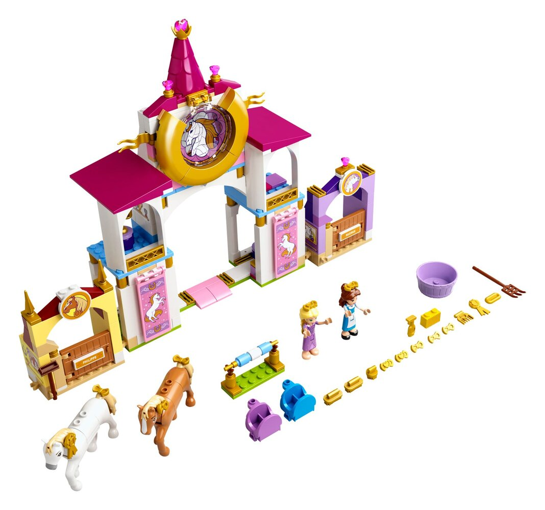 Belle and Rapunzel's Royal Stables