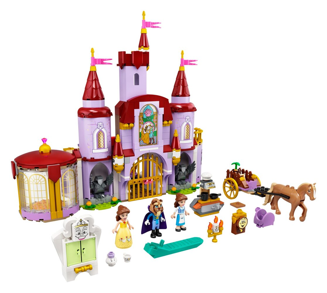 Belle and the Beast's Castle