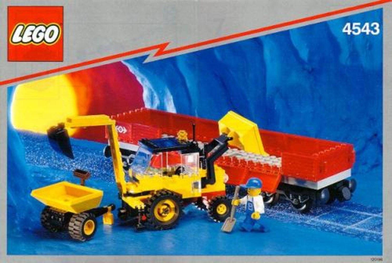 Railroad Tractor Flatbed