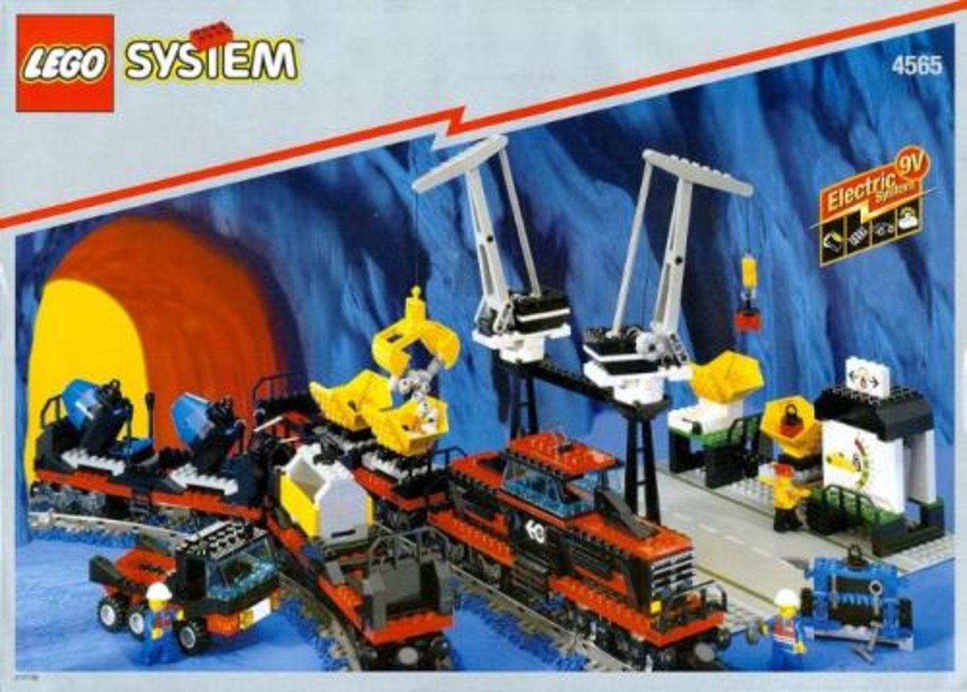 Freight and Crane Railway