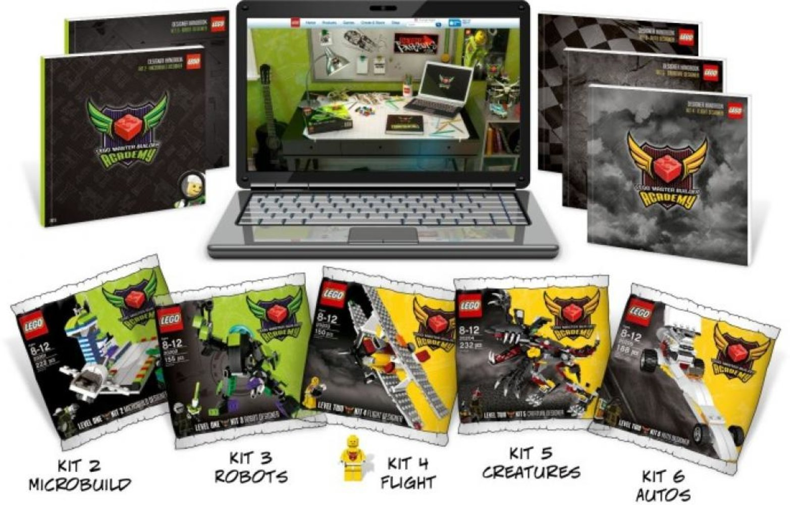 Master Builder Academy: Kits 2-6 Subscription