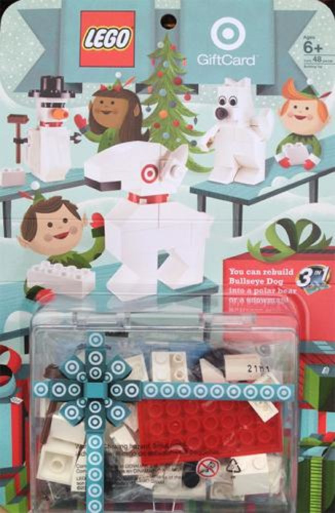 Build a Bullseye 3 in 1 Target Gift Card Promotional
