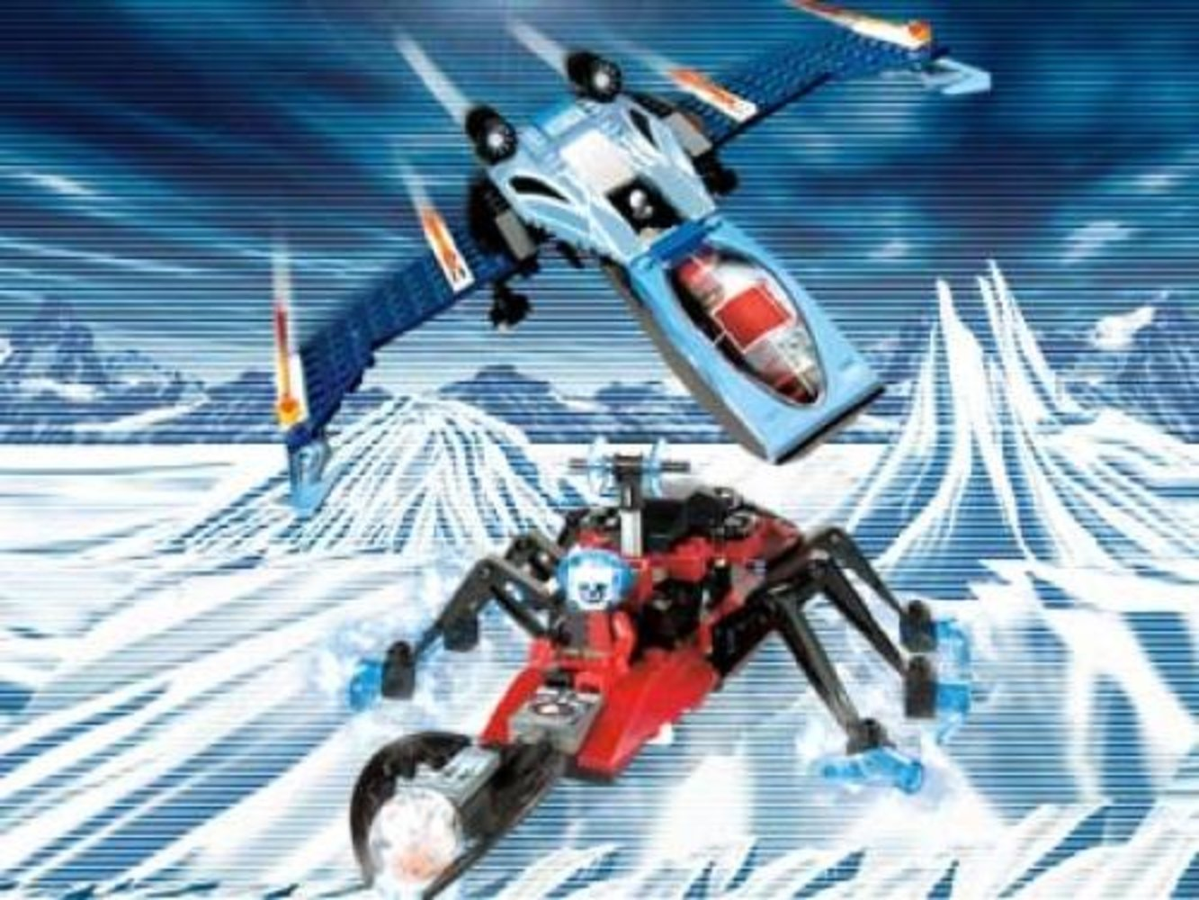 Blue Eagle vs. Snow Crawler
