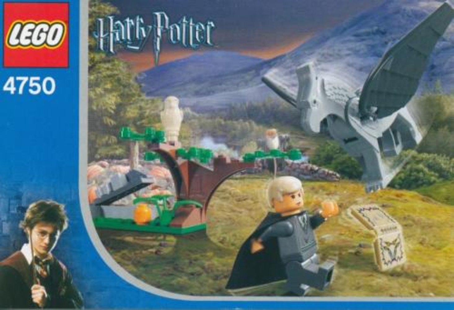Draco's Encounter with Buckbeak
