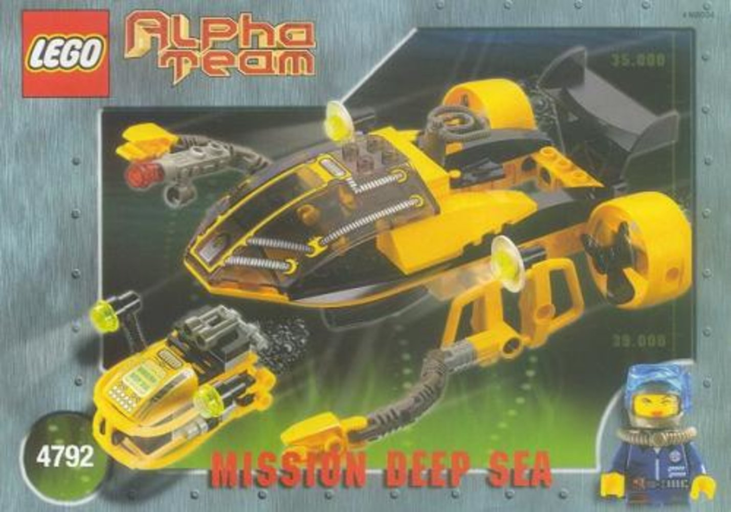 Alpha Team Navigator and ROV