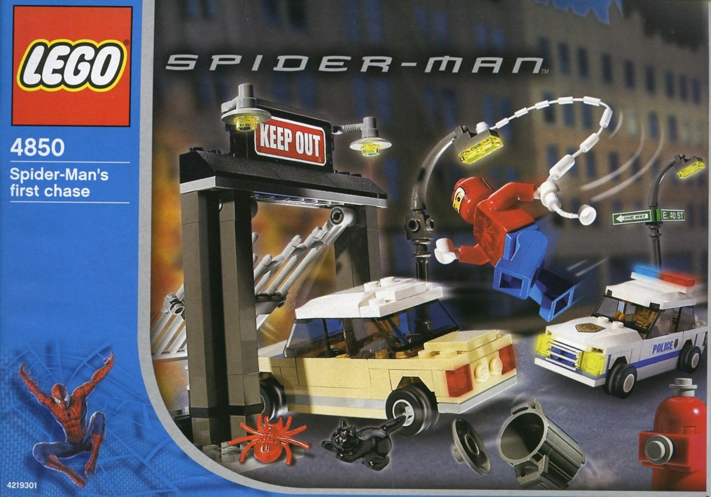 Spider-Man's First Chase