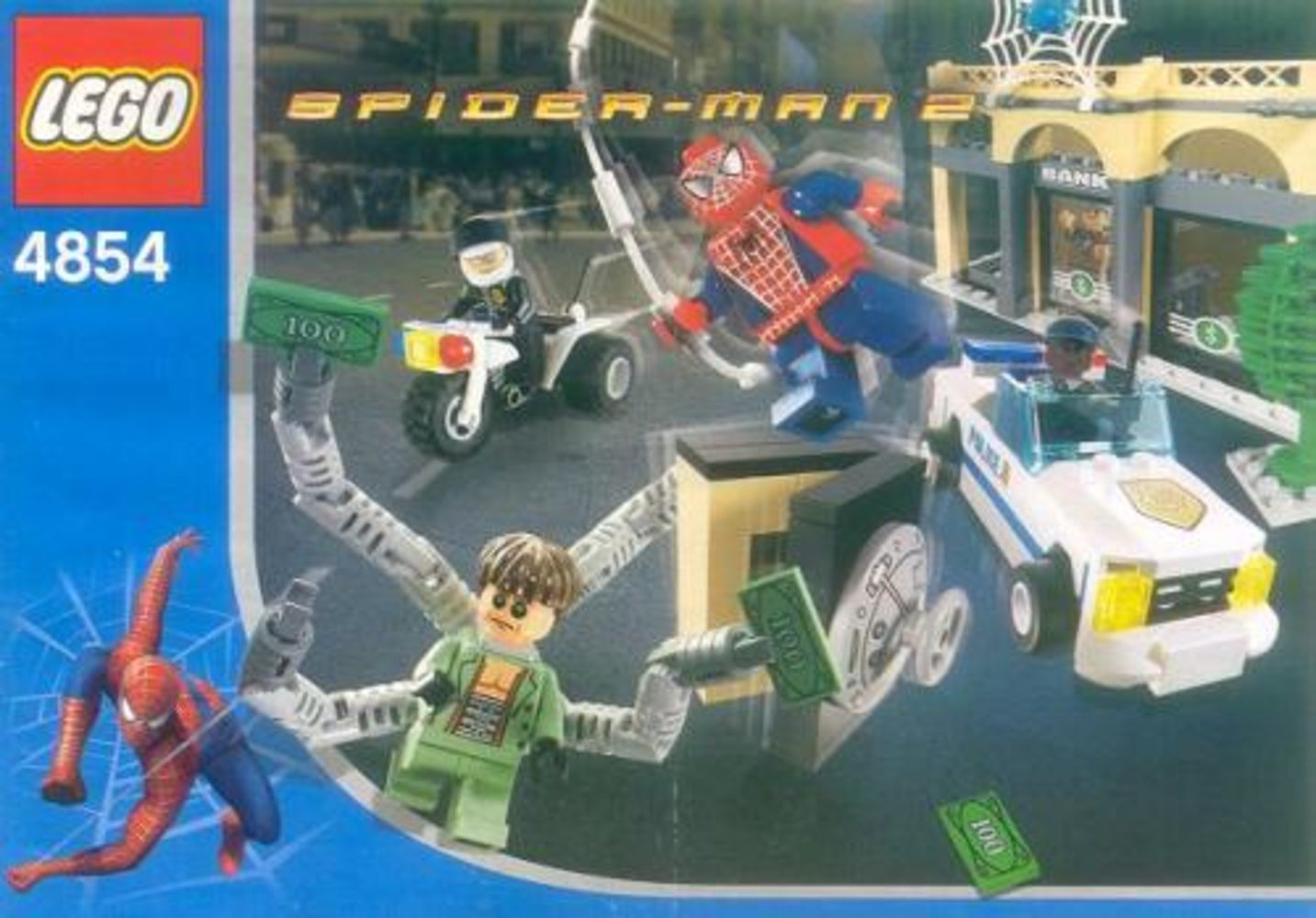 Doc Ock's Bank Robbery