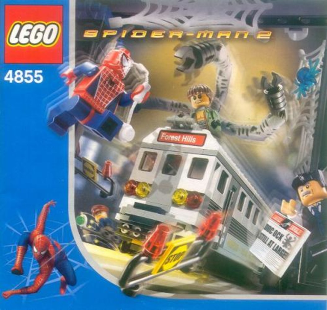 Spider-Man's Train Rescue