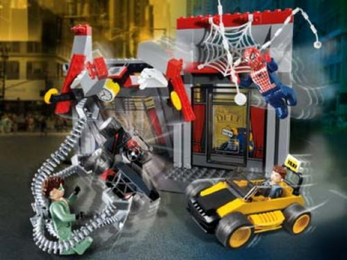 Doc Ock's Cafe Attack