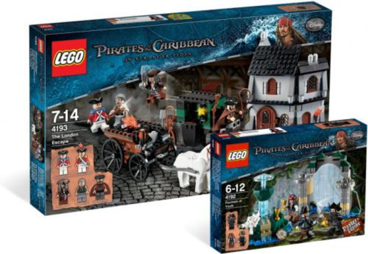 Pirates of the Caribbean: On Stranger Tides Collection