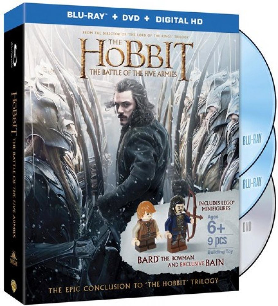 The Hobbit - The Battle of the Five Armies (Blu-ray with Minifigures)