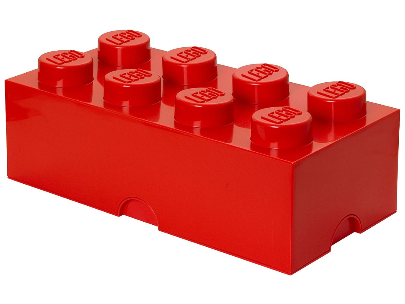 8 stud Red Storage Brick