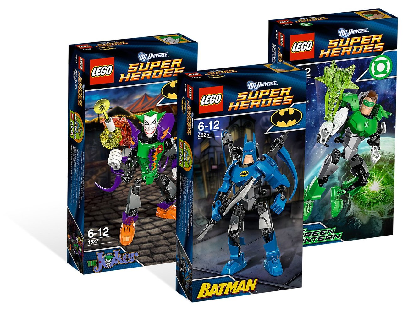 DC Universe Super Heroes Collection