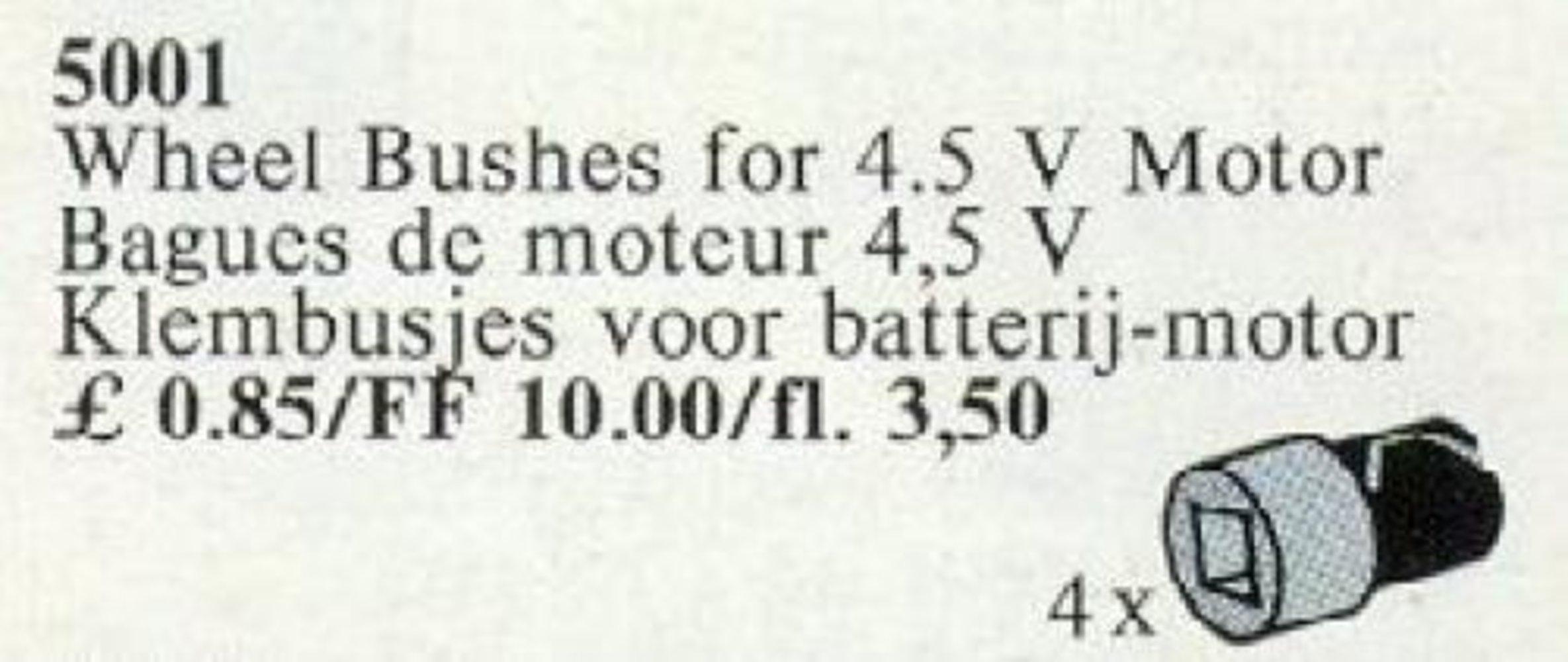 Wheel Bushes for 4.5V Basic Motor