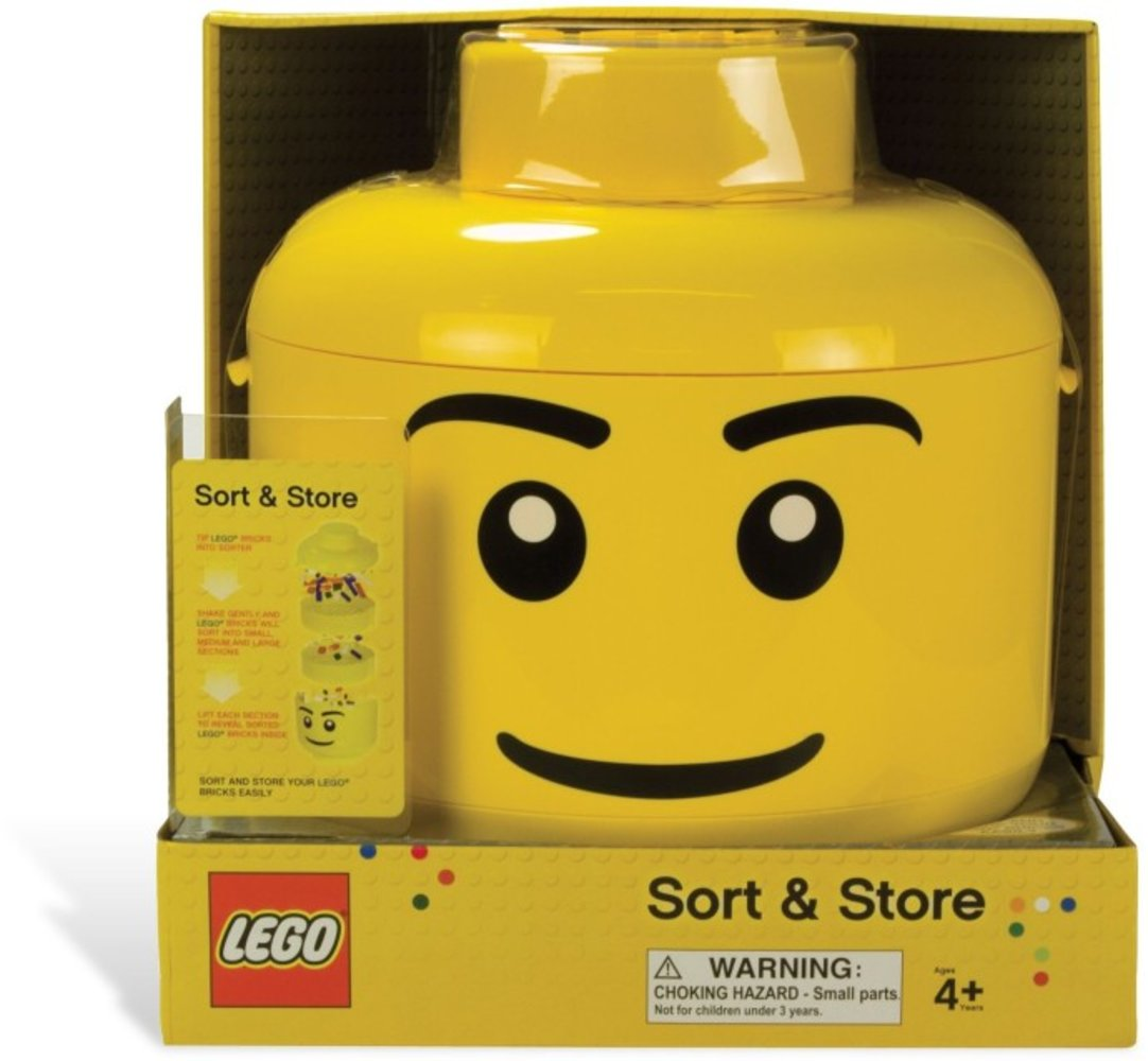 Sort & Store Minifigure Head (Standard Smile Pattern)