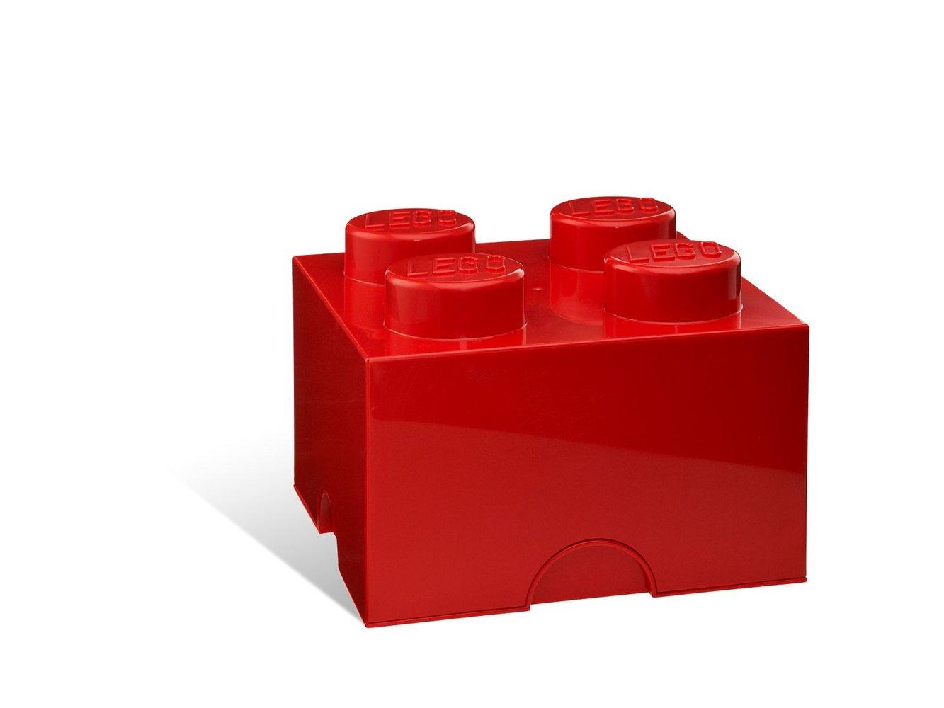 4-stud Red Storage Brick