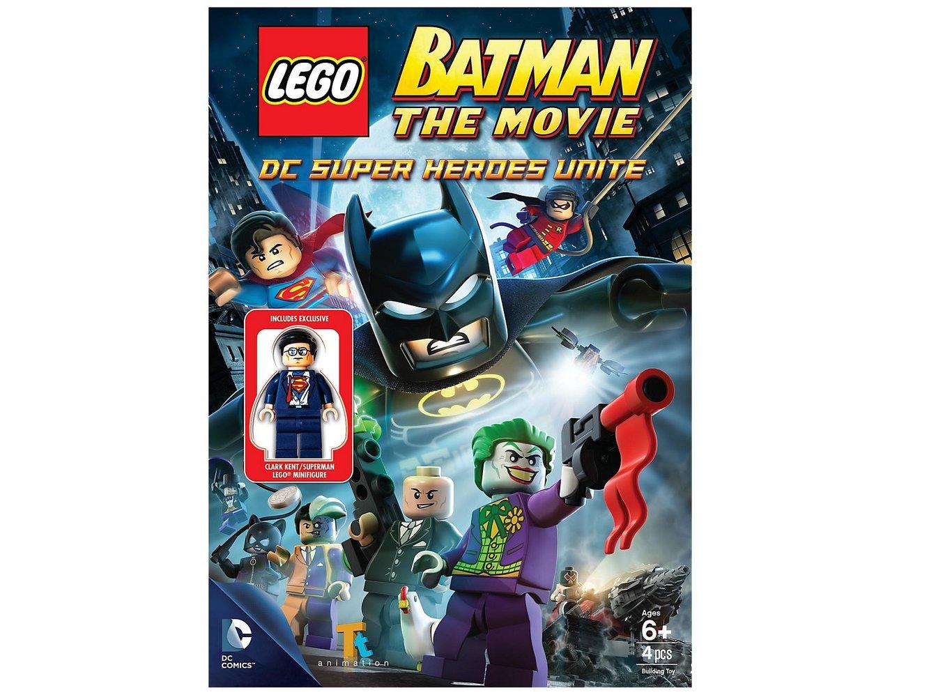Batman The Movie - DC Super Heroes Unite (DVD)