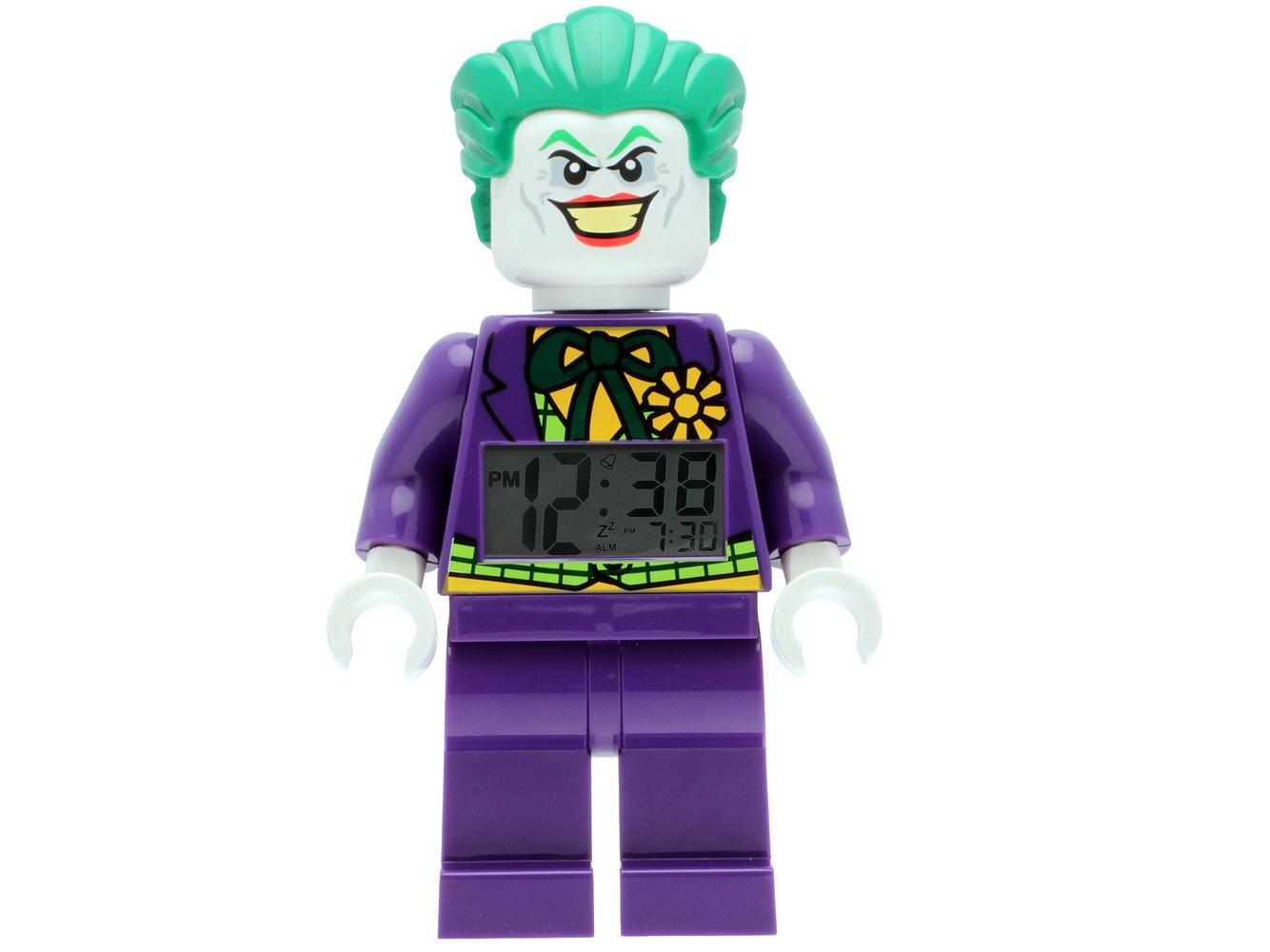The Joker Minifigure Clock