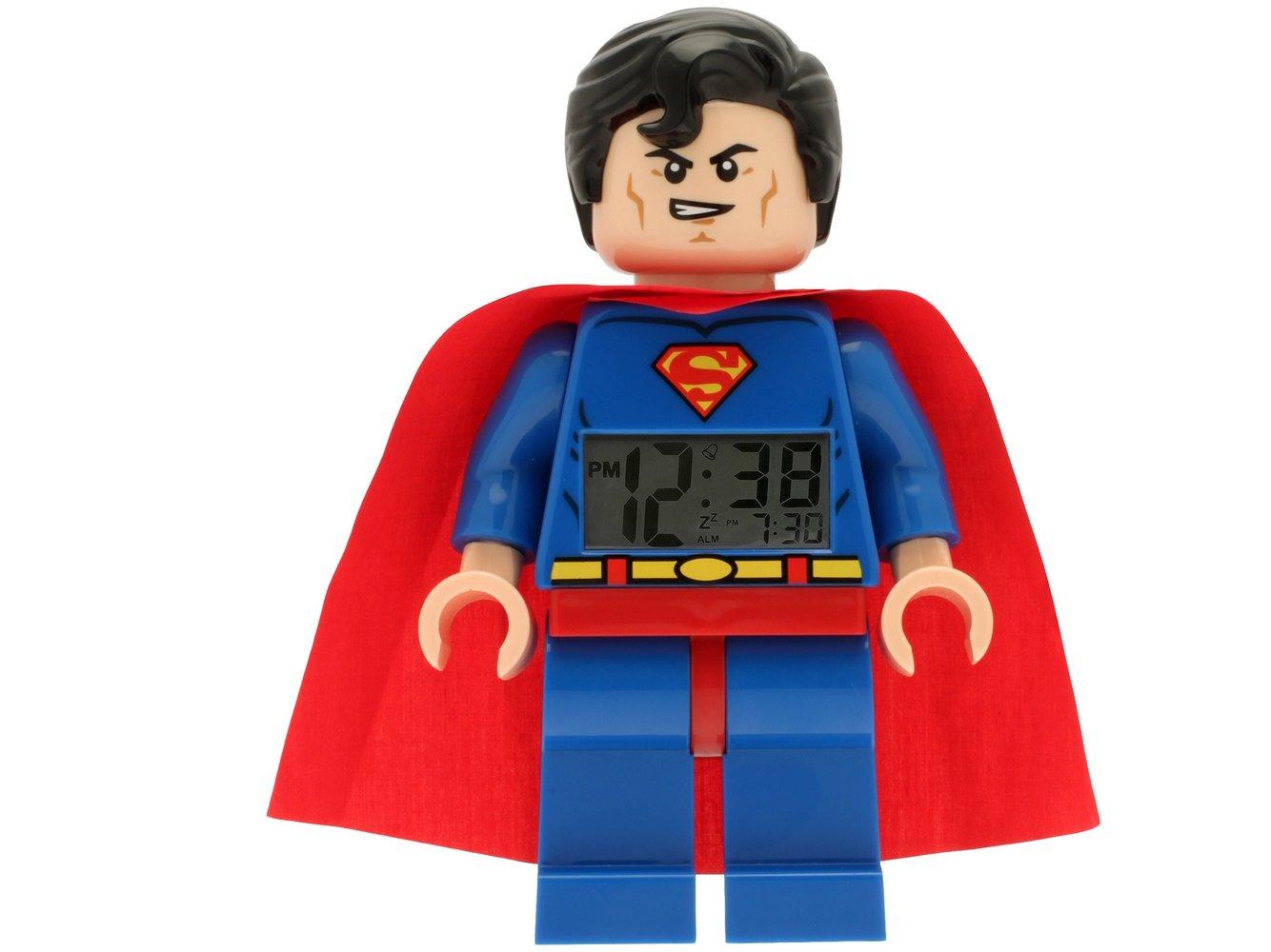 Superman Minifigure Clock