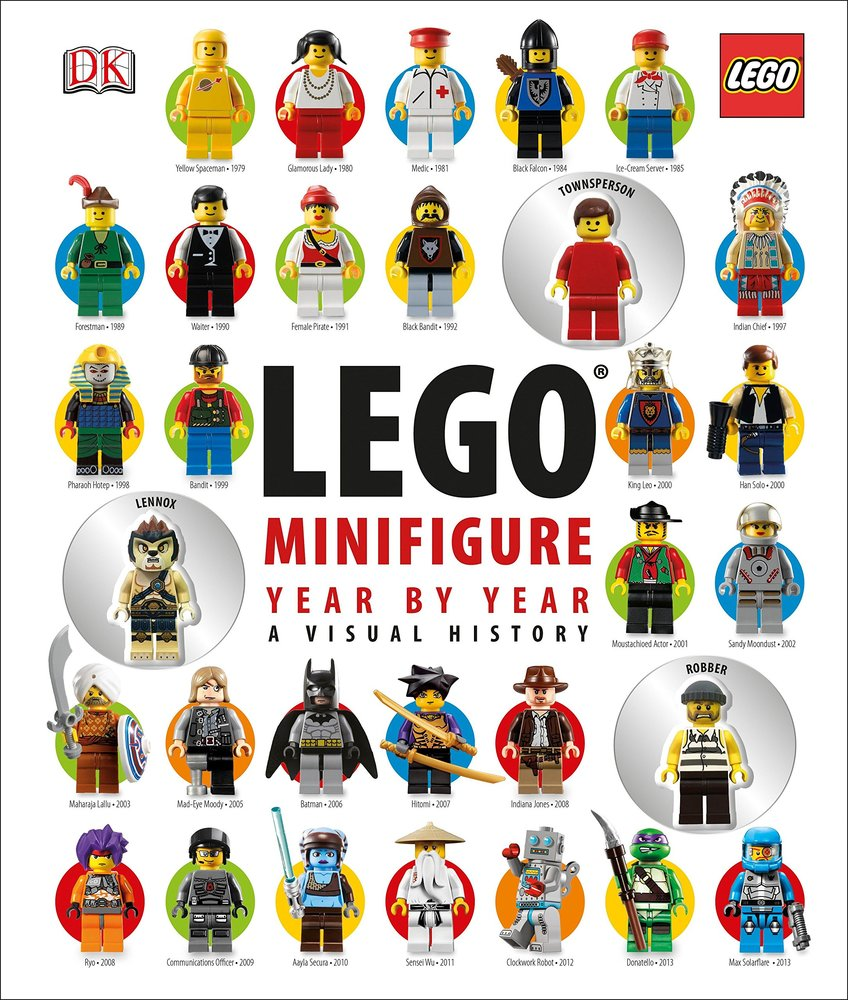 LEGO Minifigure Year by Year: A Visual History (No Minifigs Version)
