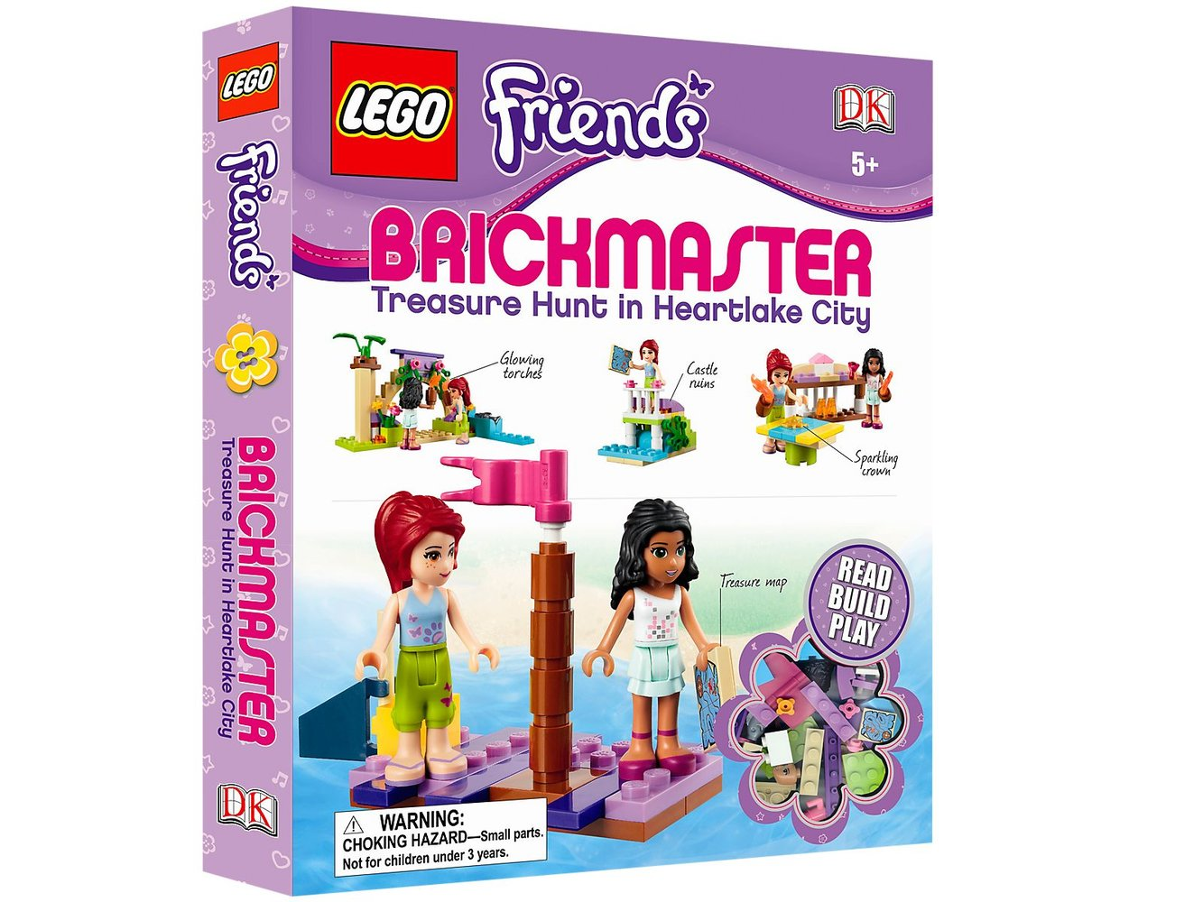Friends: Brickmaster: Treasure Hunt in Heartlake City