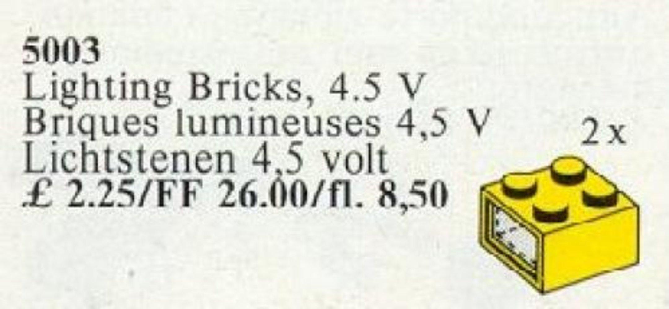 Light Bricks, 4.5V