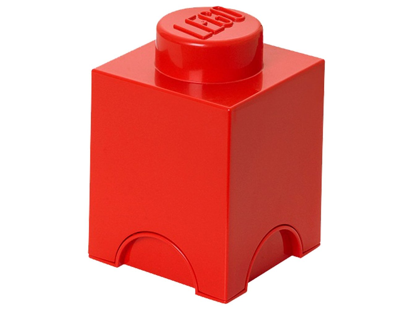 1 stud Red Storage Brick