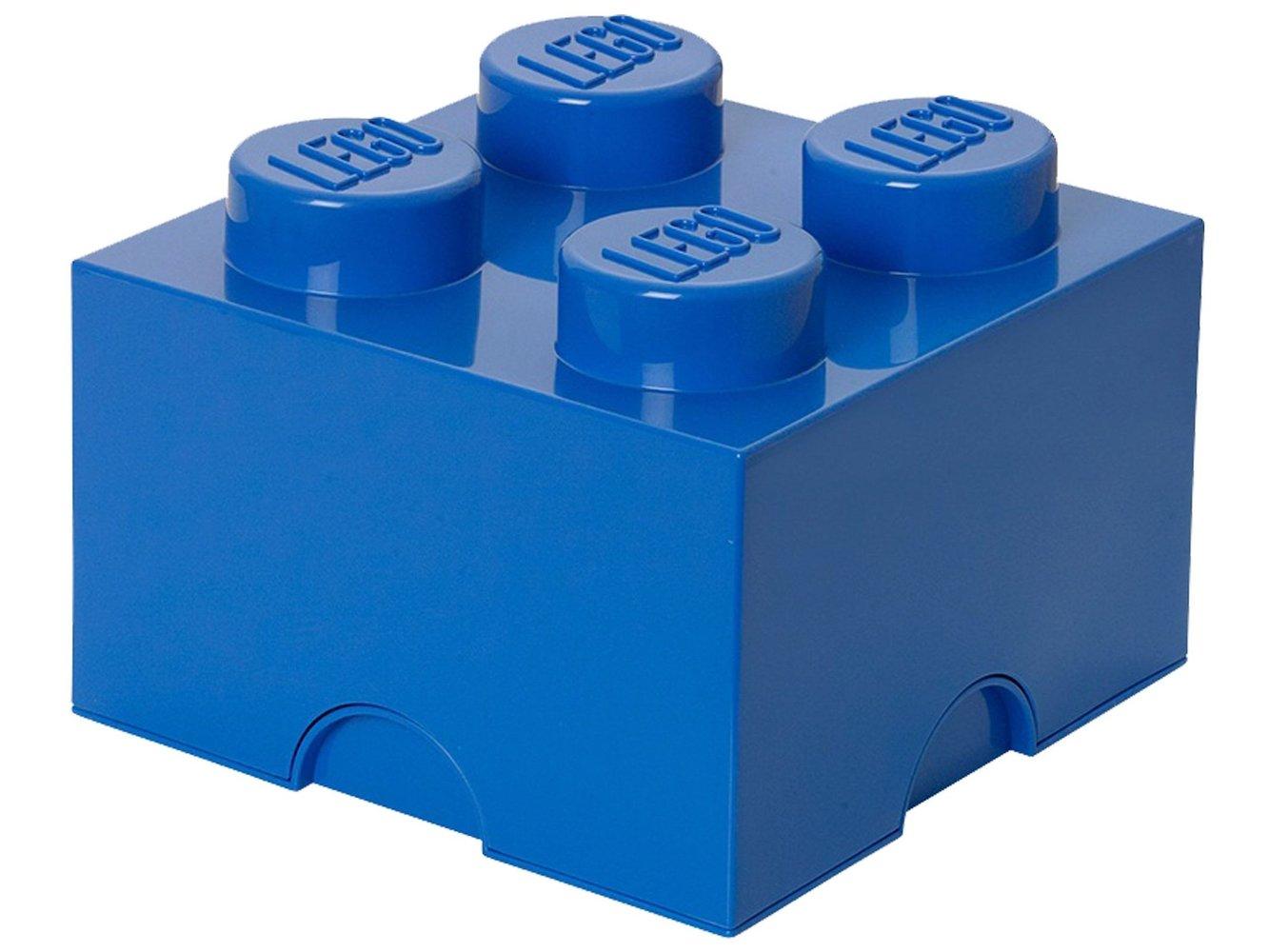 4 stud Blue Storage Brick