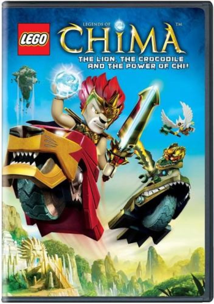 Legends of Chima The Lion the Crocodile and the Power of CHI!