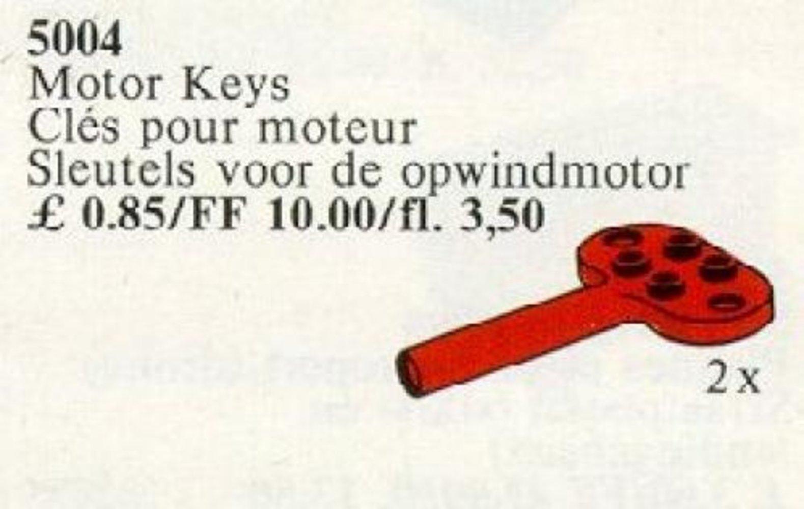 Keys for Windup Motor