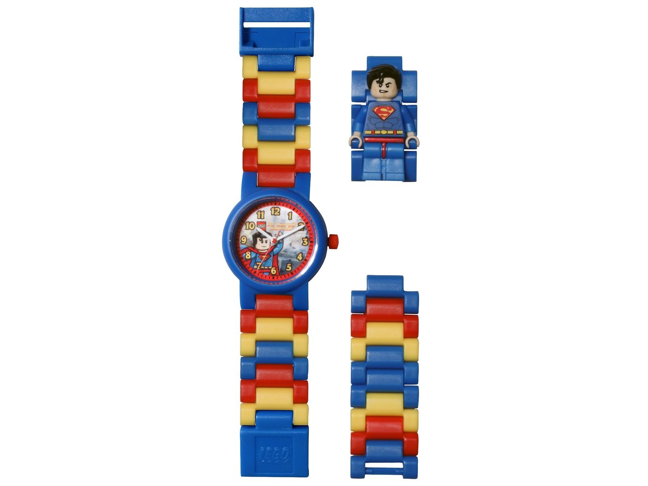 Superman Minifigure Link Watch