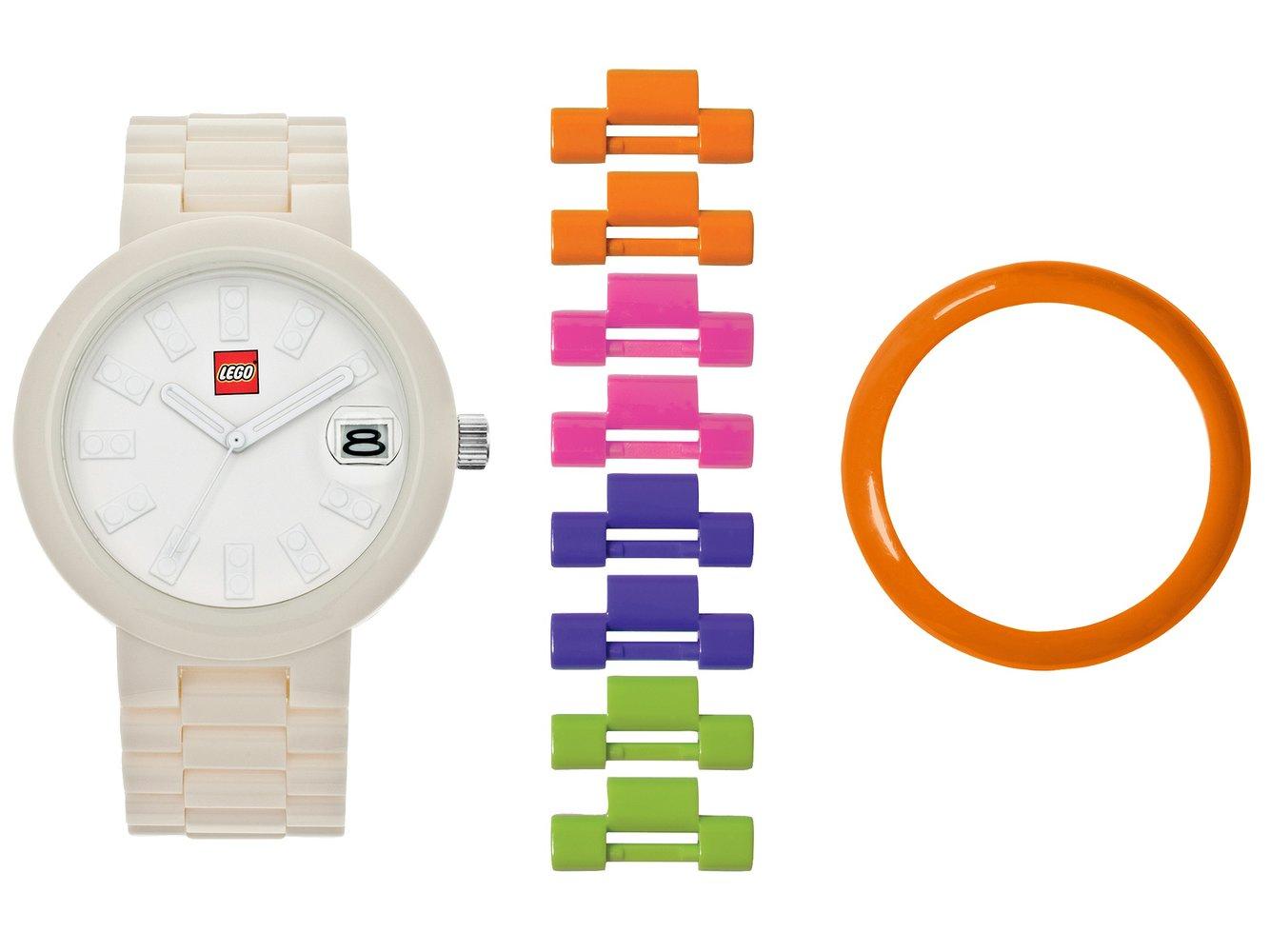 Brick White Adult Watch