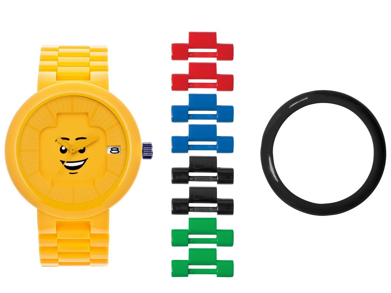 Happiness Yellow Adult Watch