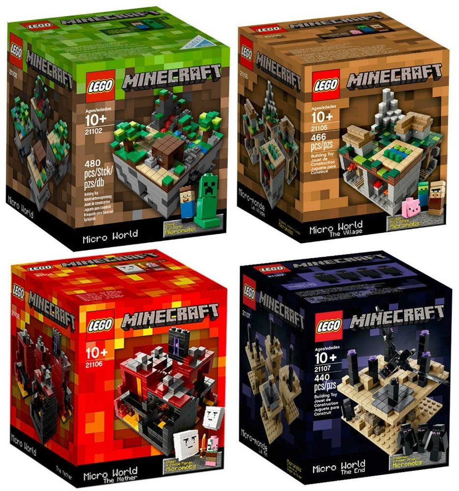 Minecraft Micro World Collection