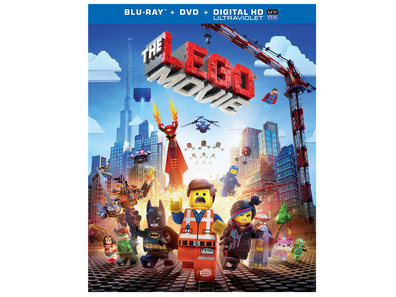 The LEGO Movie: Blu-ray Combo Pack