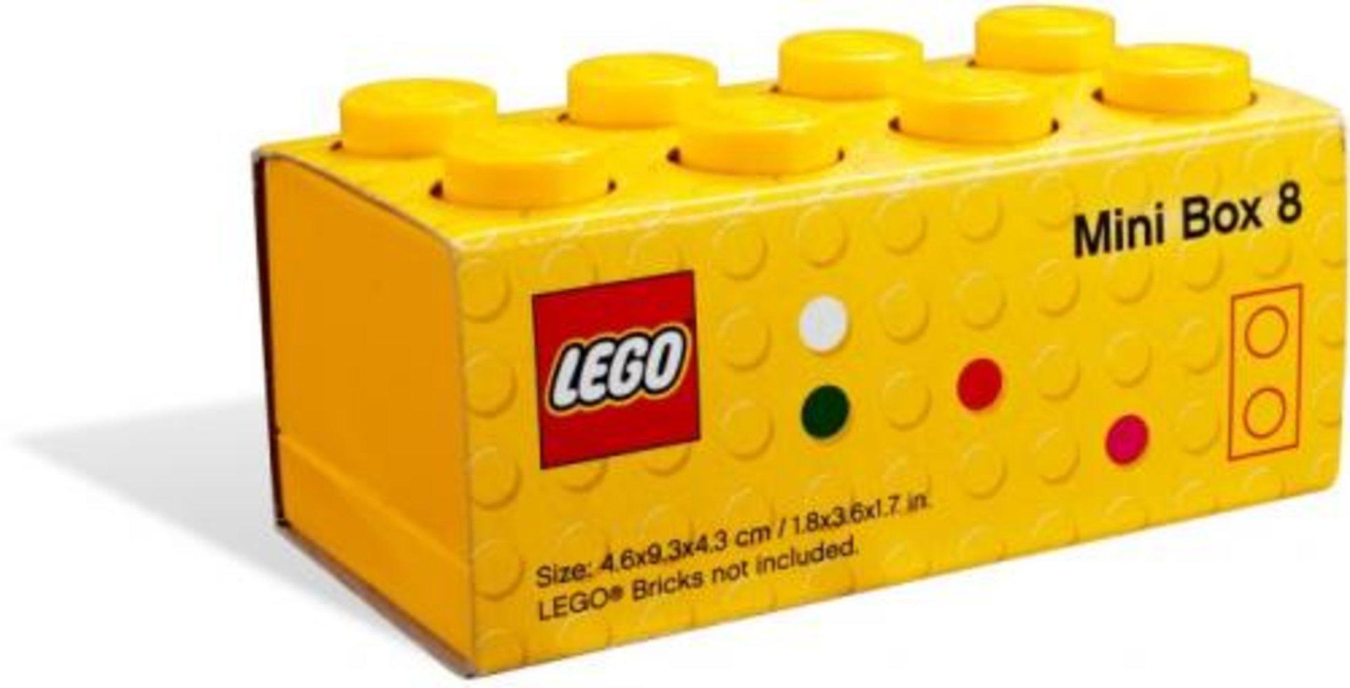 LEGO Mini Box (Yellow)
