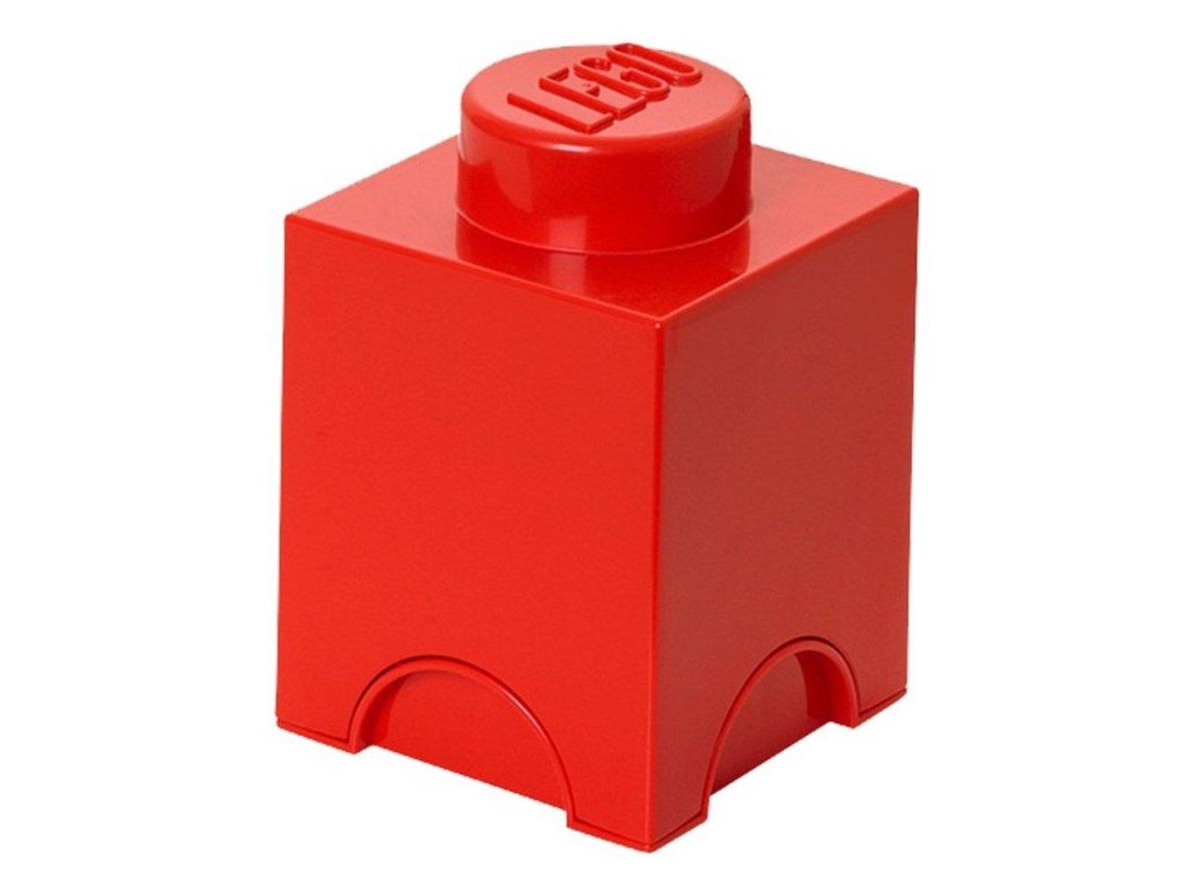 Single Stud Red Storage Brick