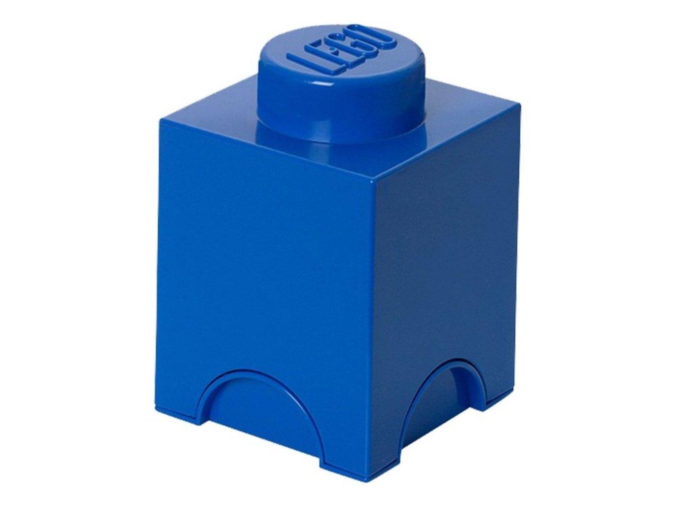 Single Stud Blue Storage Brick