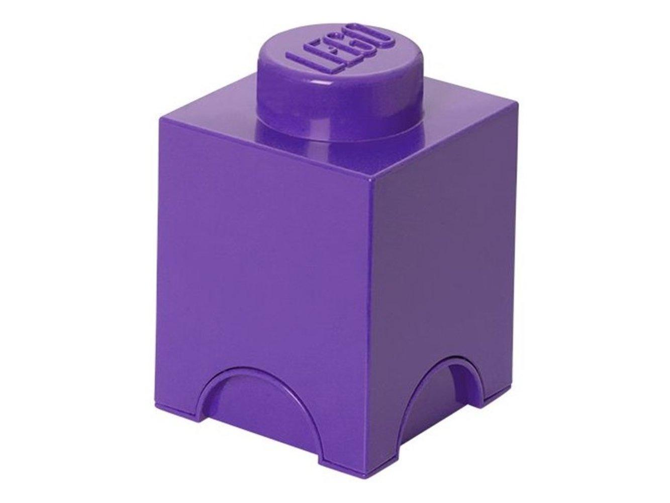 Friends Single Stud Storage Brick Medium Lilac
