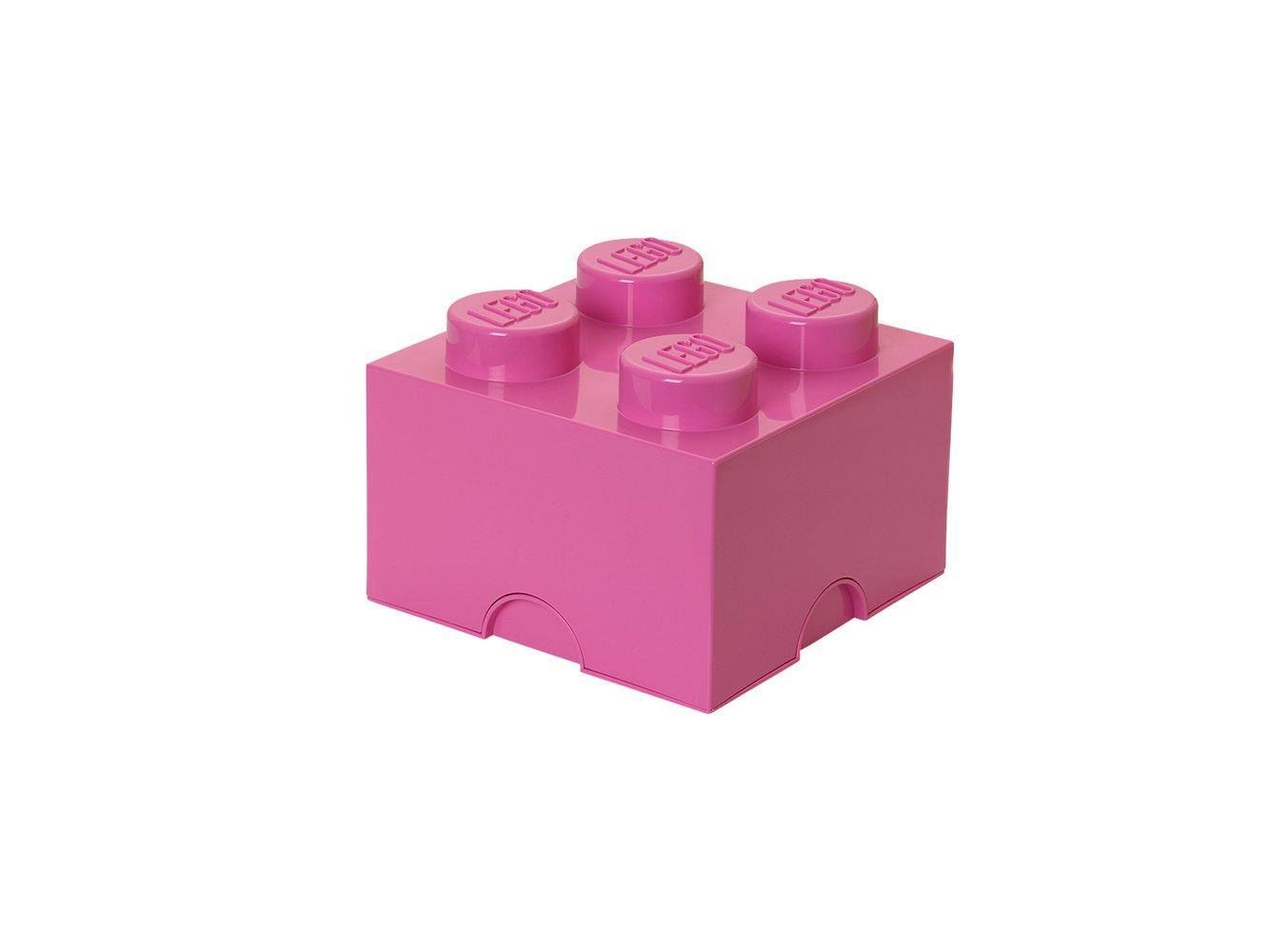 Storage Brick 2 x 2 Pink