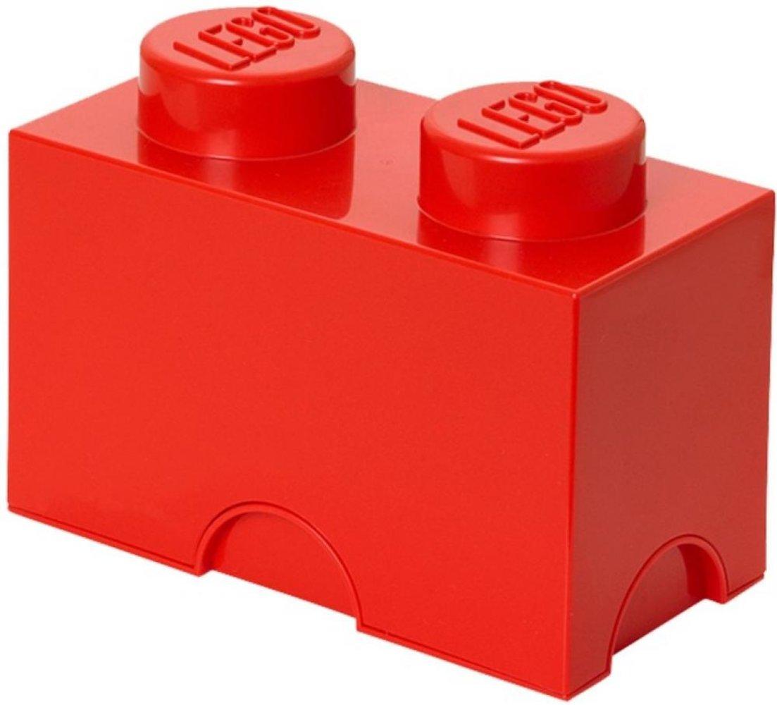 Storage Brick 1 x 2 Red