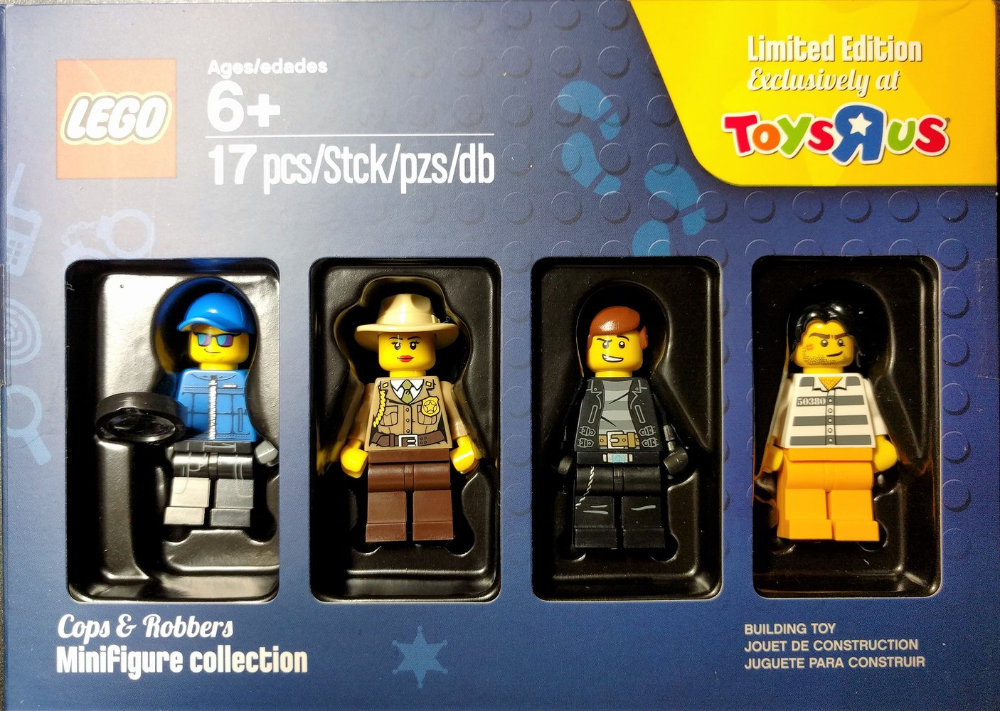 Cops & Robbers Minifigure collection