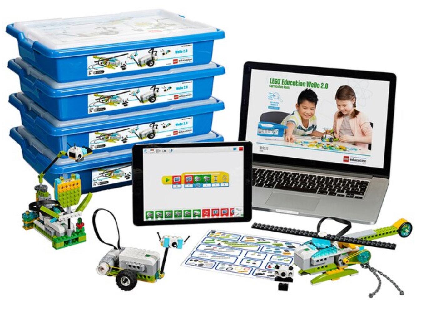 WeDo 2.0 ReadyGo 8-Student Pack