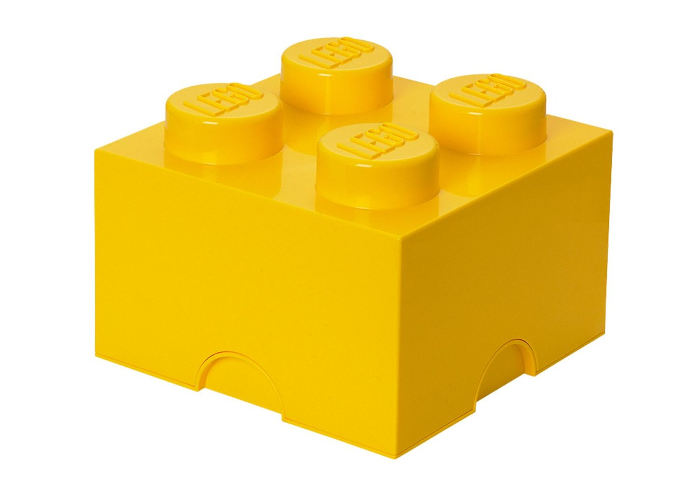 4-stud Yellow Storage Brick